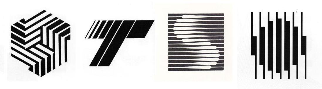 1980sstripedlogos