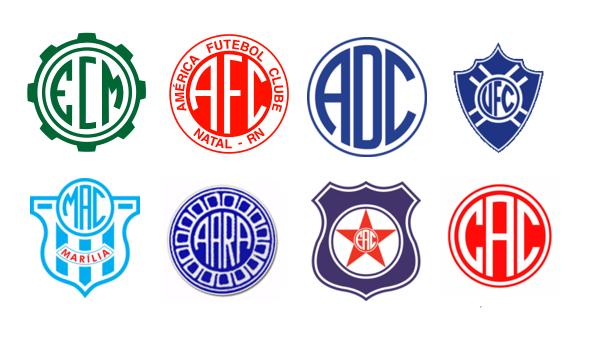 Brazilian Soccer Crests