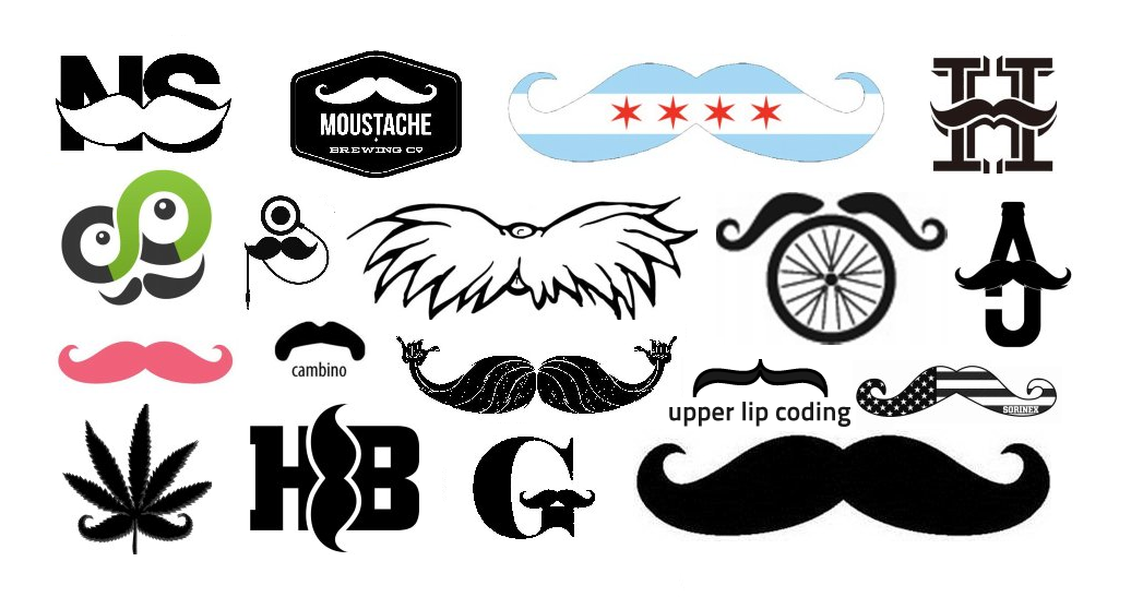 The Growth Of The Mustachioed Logo Emblemetric