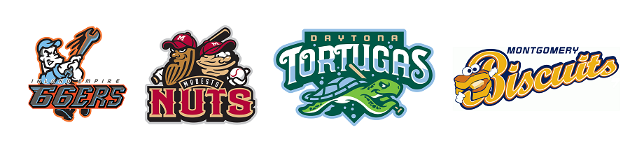 7 - minor league logos