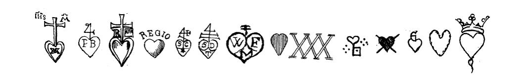 rispaquot hearts 1065